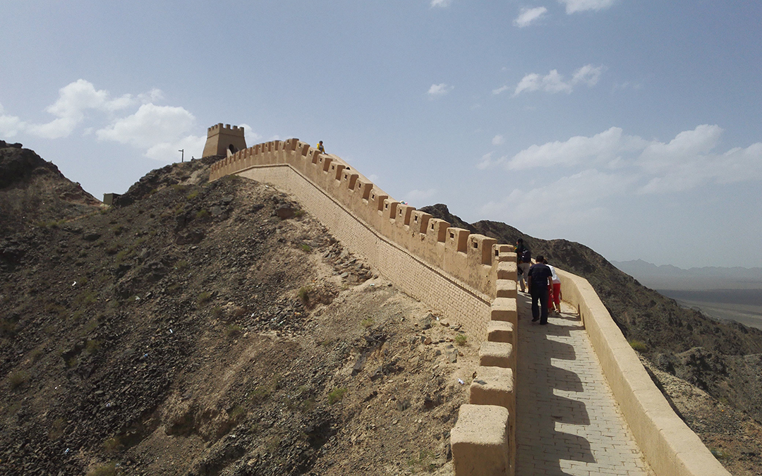 The Great Wall On The Cliff