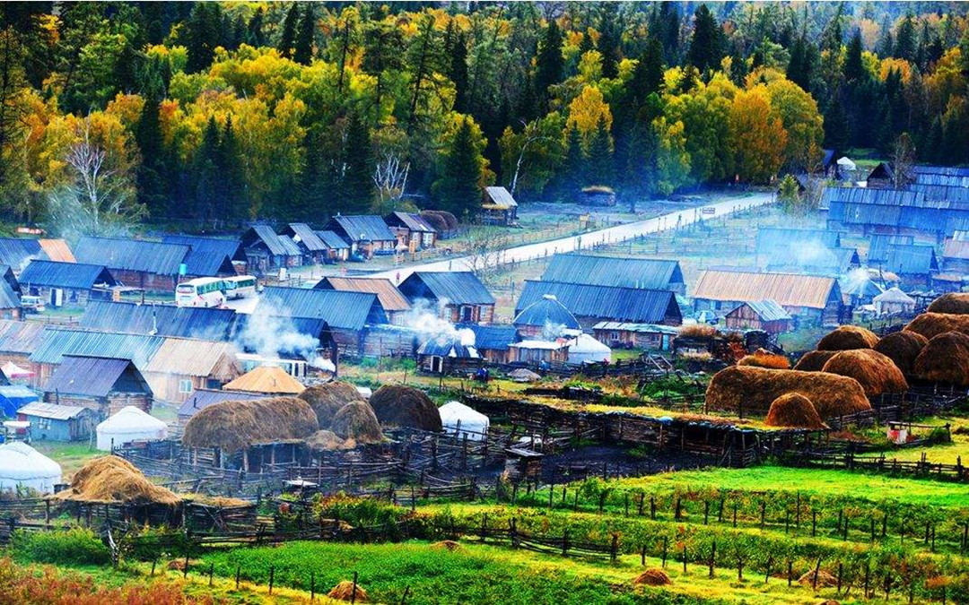 The Charm of Hemu Village