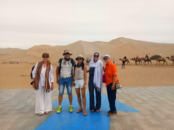 Singapore and Amreica Group in Dunhuang.jpg