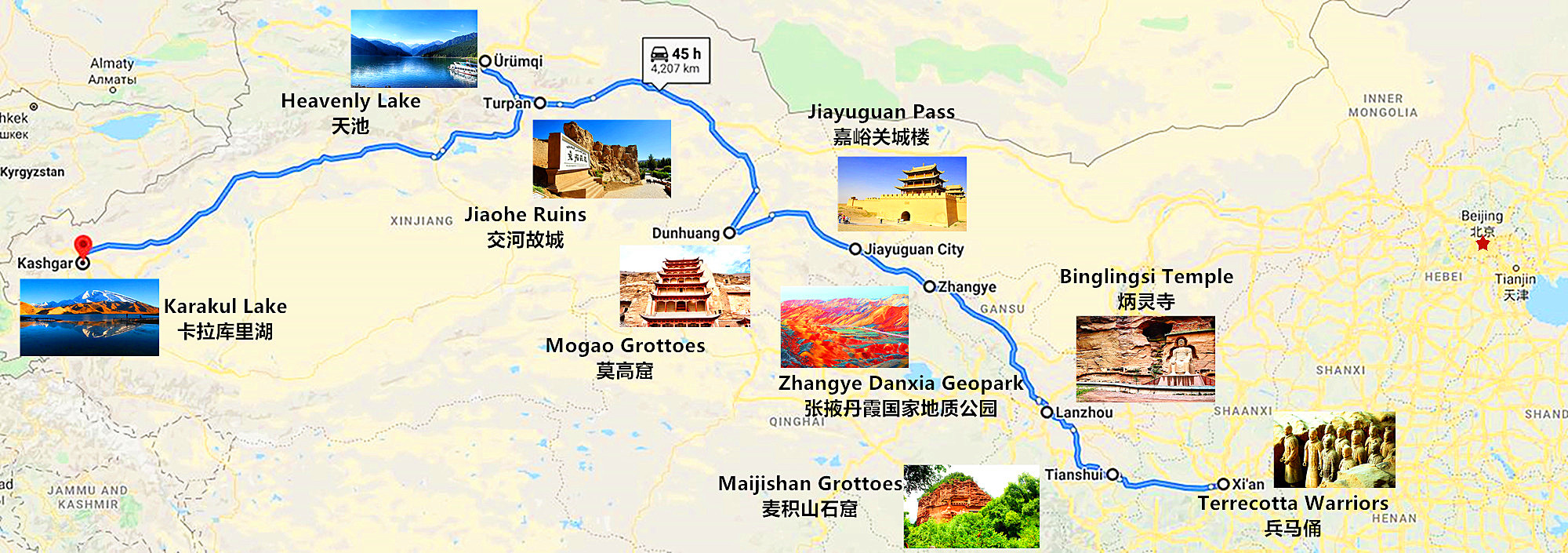 silk road top attraction