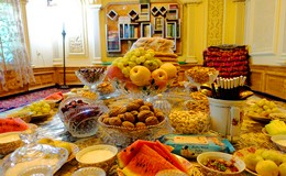 Food and Fruits in Kashgar