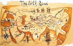 Silk Road Maps