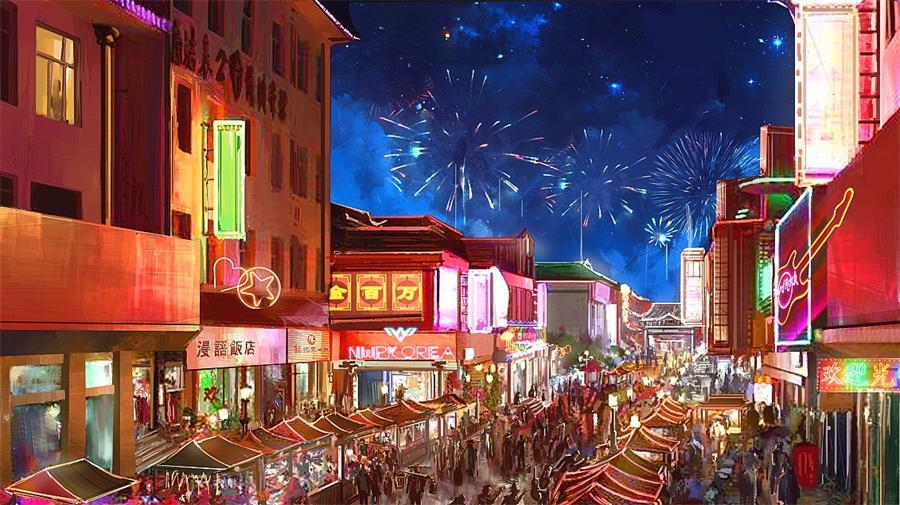 Shazhou Night Market