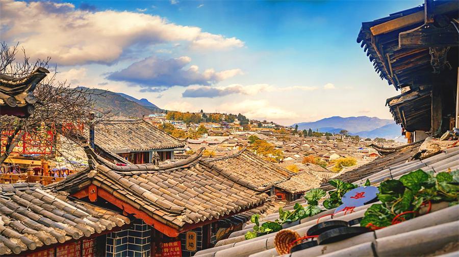 The Ancient City Of Lijiang
