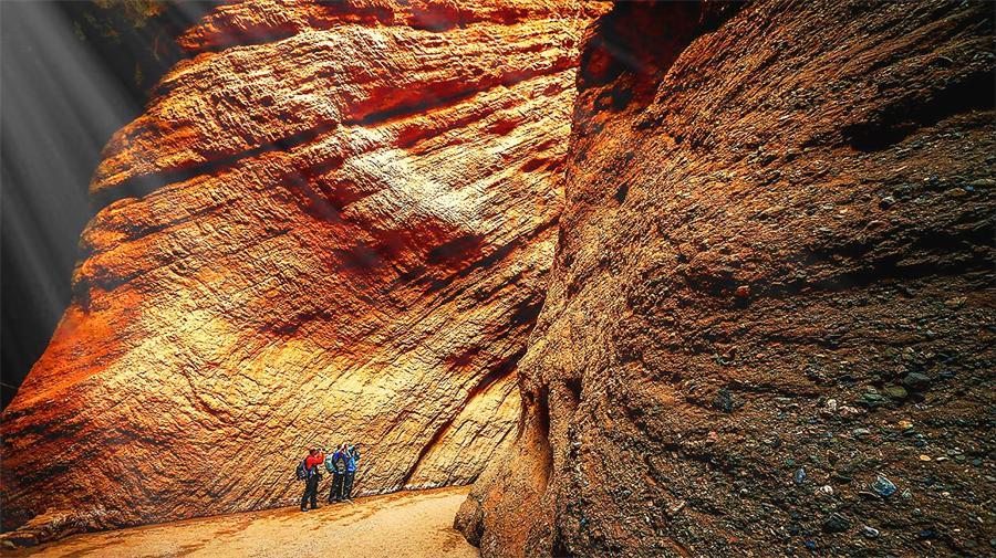 Tianshan Mysterious Grand Canyon