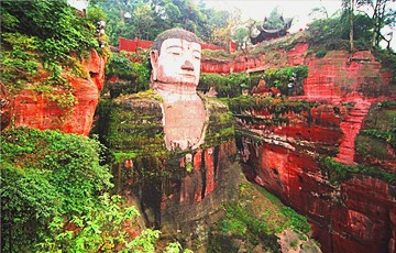 Giant Panda Base and Leshan Giant Buddha Day Tour