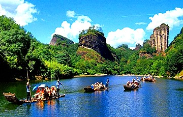 5 Days Fujian Xiamen & Tulou& Wuyi Mount Tour